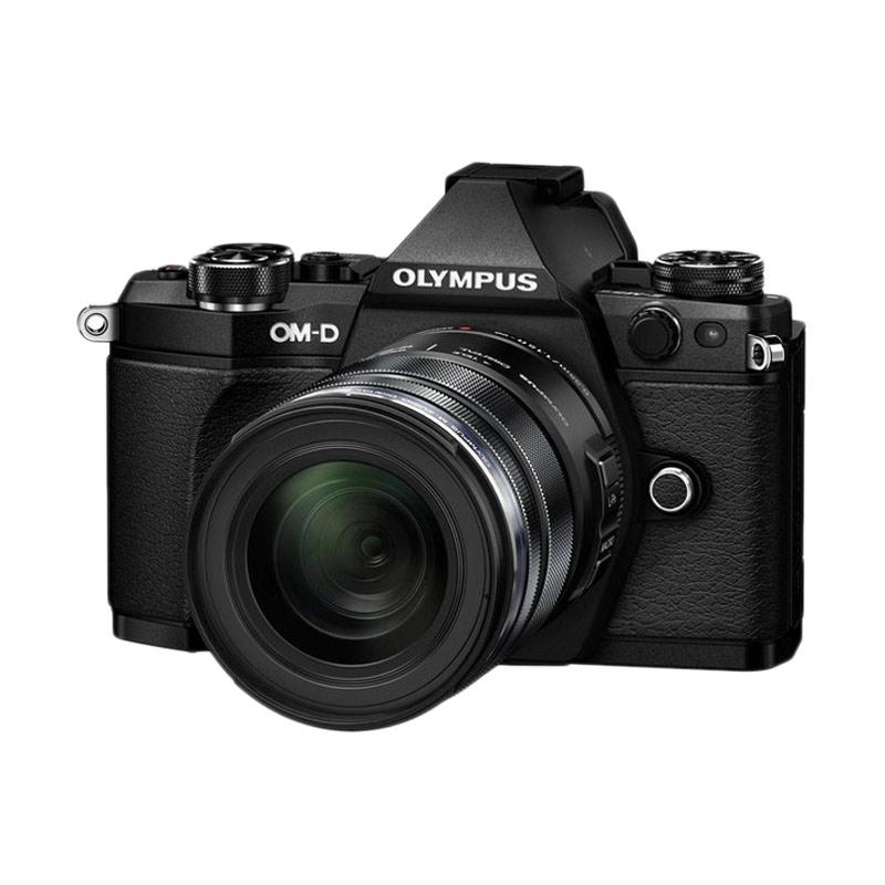 Olympus OM-D E-M5 Mark II Kit ED 12-50mm f-3.5-6.3 EZ Kamera Mirrorless - Black