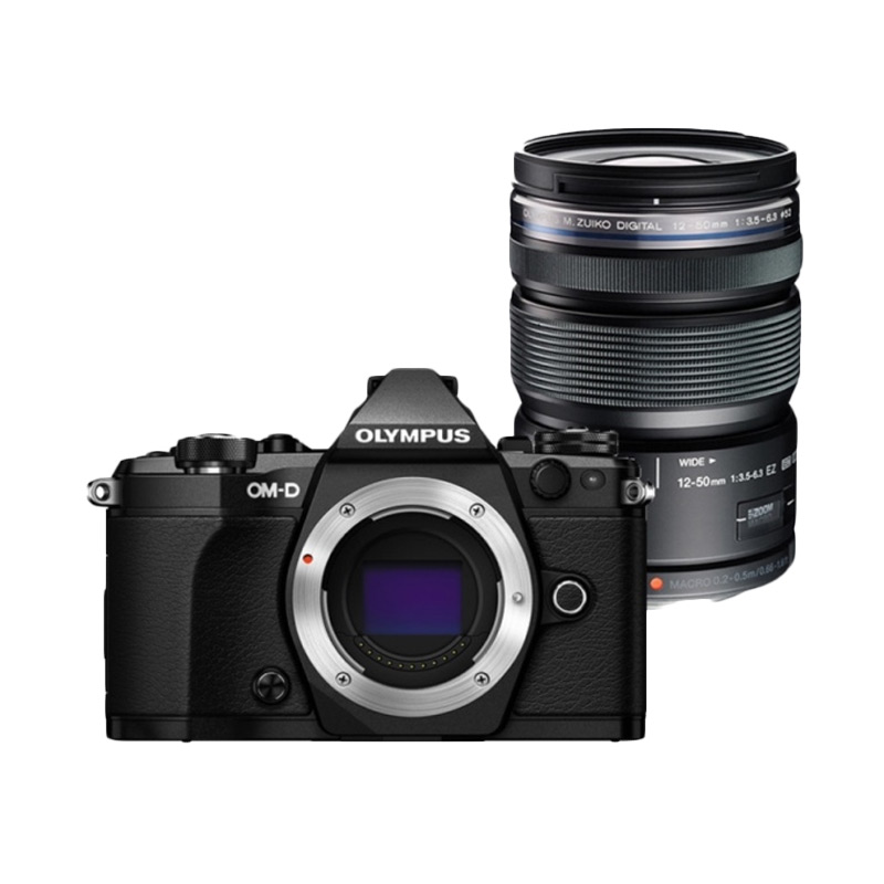 Olympus Digital Camera OM-D E-M5 Mark II with 12-50mm Black/Black