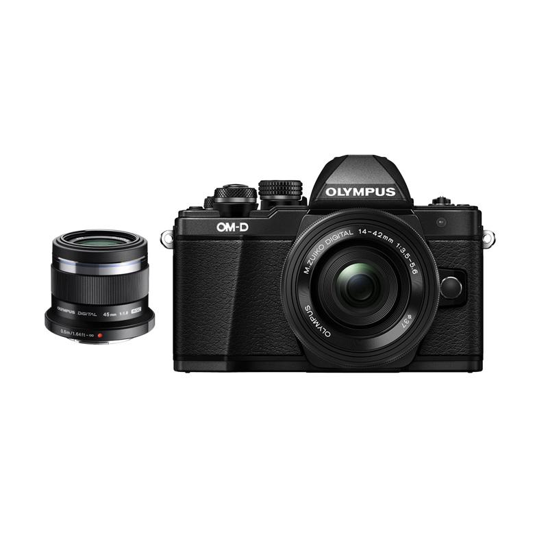 harga Olympus OMD EM10 MARK II KIT 14-42mm EZ + 45mm F1.8 Kamera Mirrorless Blibli.com
