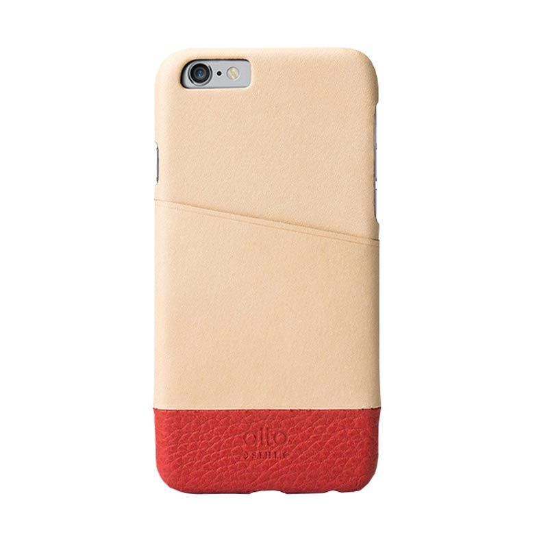 Alto Metro Original Red Leather Casing for iPhone 6