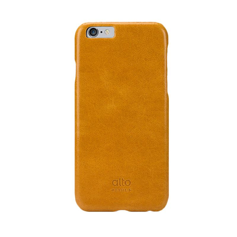 Alto Light Brown Leather Casing for iPhone 6 [Original]