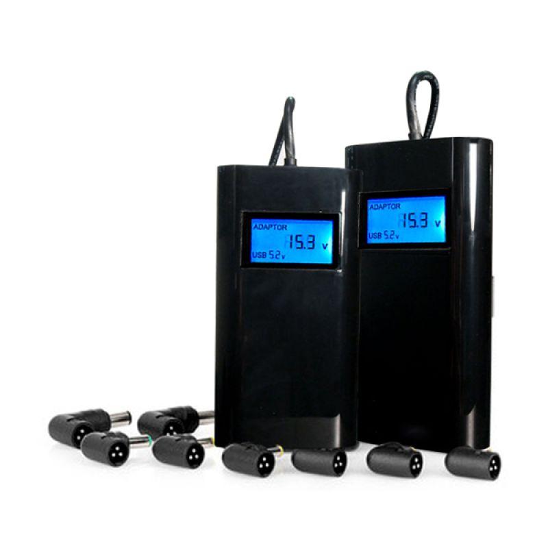 Optimuz Universal 2in1 Hitam Adapter Charger [90 Watt]
