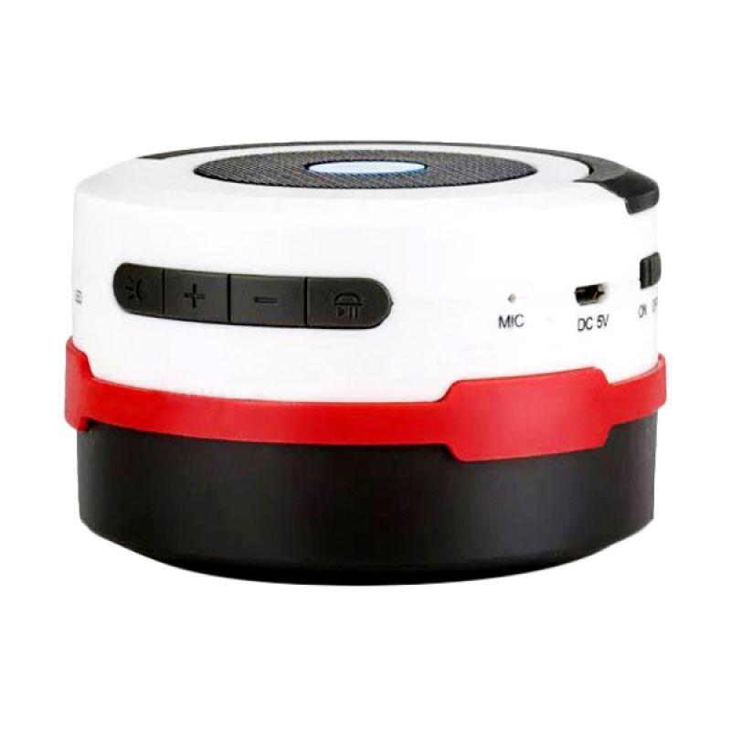 OptimuZ BL10 Lentera Lipat White Red Wireless Speaker