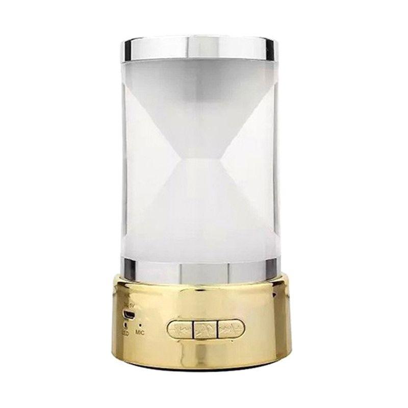 harga Optimuz Hourglass BT-18 Mini Gold Wireless Speaker Blibli.com