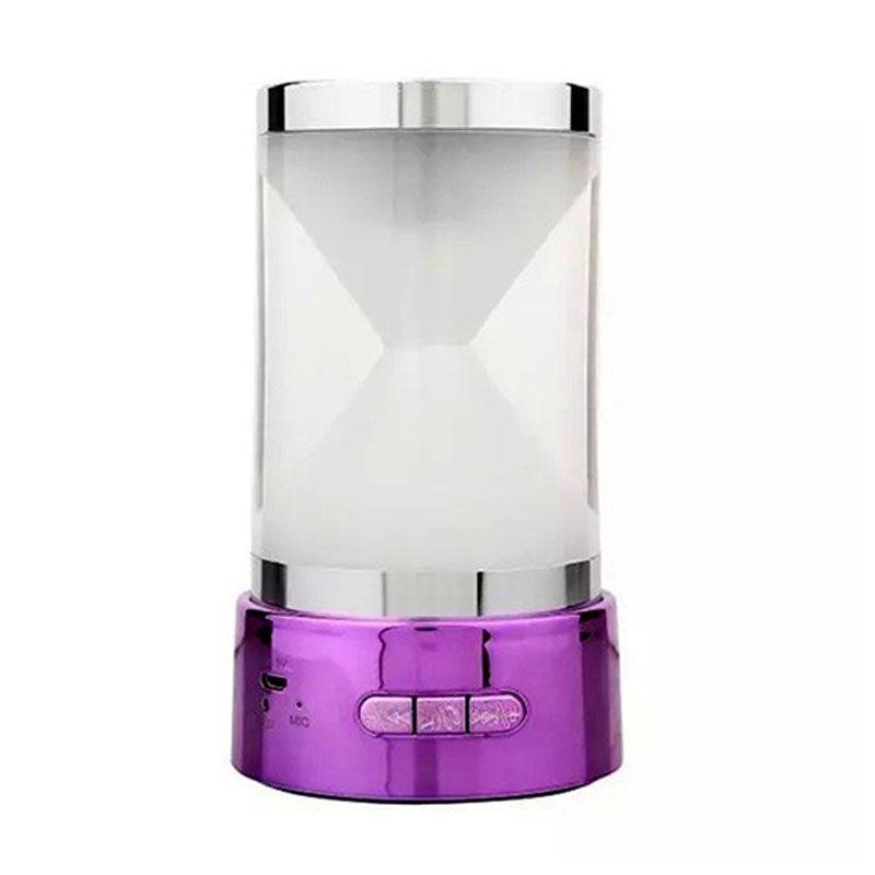 harga Optimuz Hourglass BT-18 Mini Purple Wireless Speaker Blibli.com