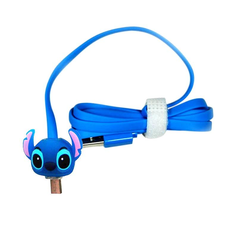 OptimuZ LED Stitch Blue USB Data Cable