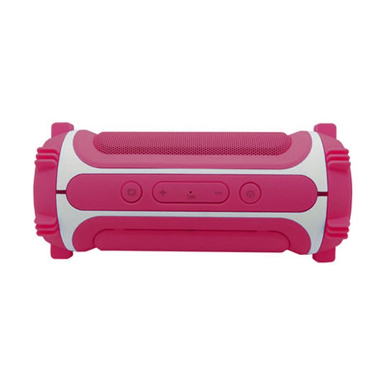 OptimuZ X-Bass Plus ITA Pink Bluetooth Speaker