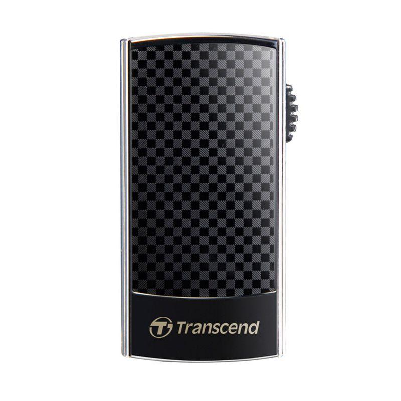 Transcend JetFlash 560 Black Flashdisk [16 GB]