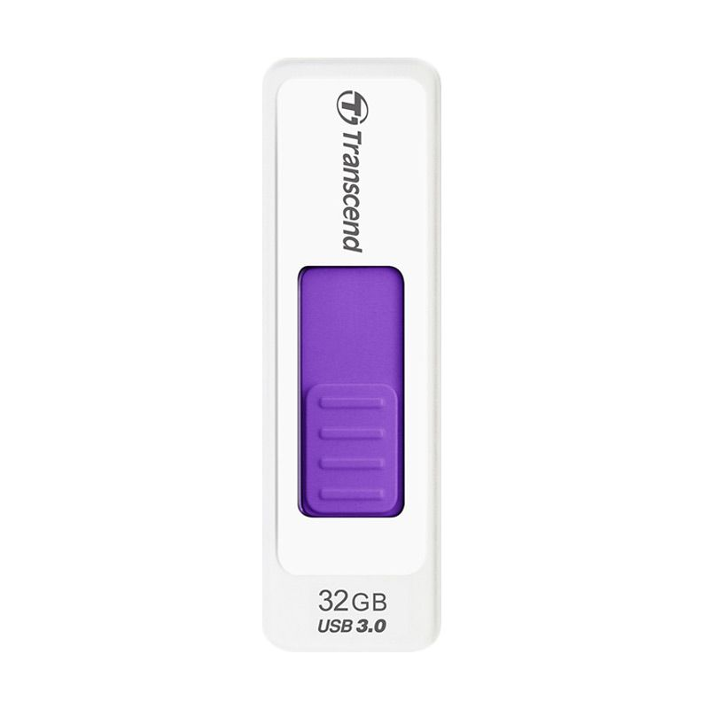 Transcend JetFlash 770 White Purple Flashdisk [32 GB]