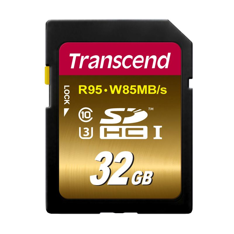 Transcend UHS-I SDHC Memory Card [32 GB]