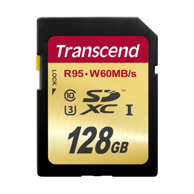 Transcend UHS-I SDXC Memory Card [128 GB]