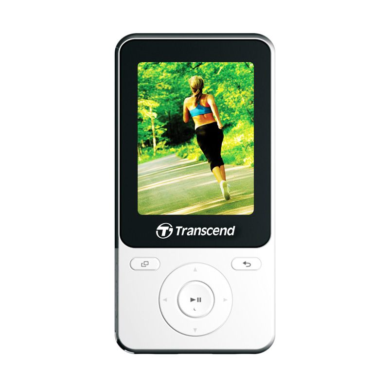 Transcend T-Sonic MP4 MP710 Putih Music Player [8 GB]