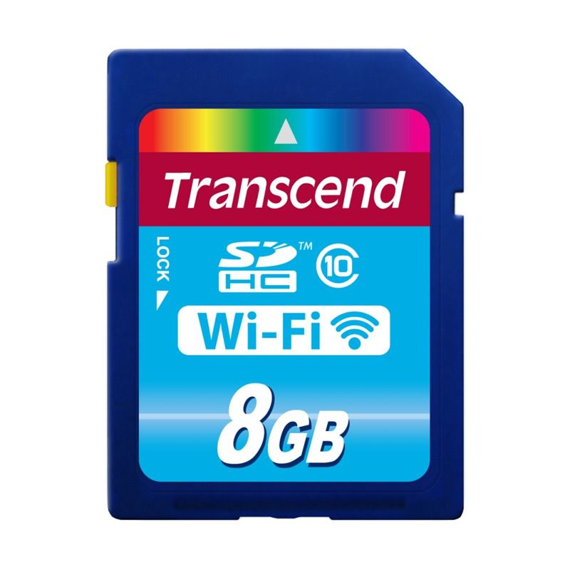 Transcend Wi-Fi Memory Card [8 GB]