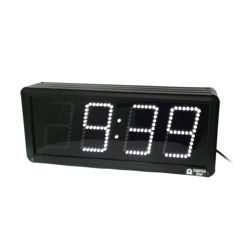 Jam Digital Dinding LED Putih