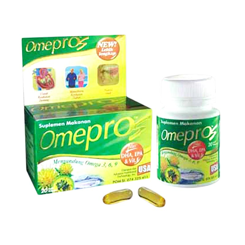 Omepros Food Supplement [60 softgels]
