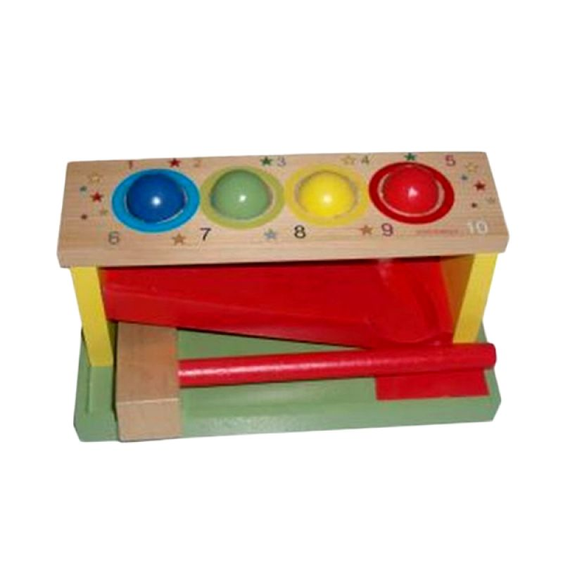 Omochatoys Palu Bola Luncur Mainan Anak