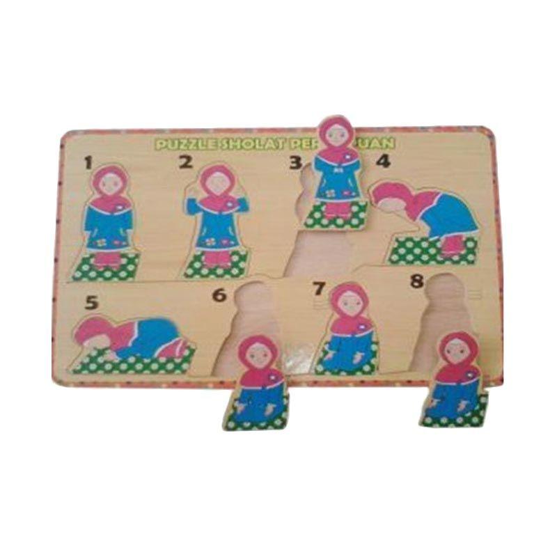 Omochatoys Sholat Perempuan Mainan Puzzle