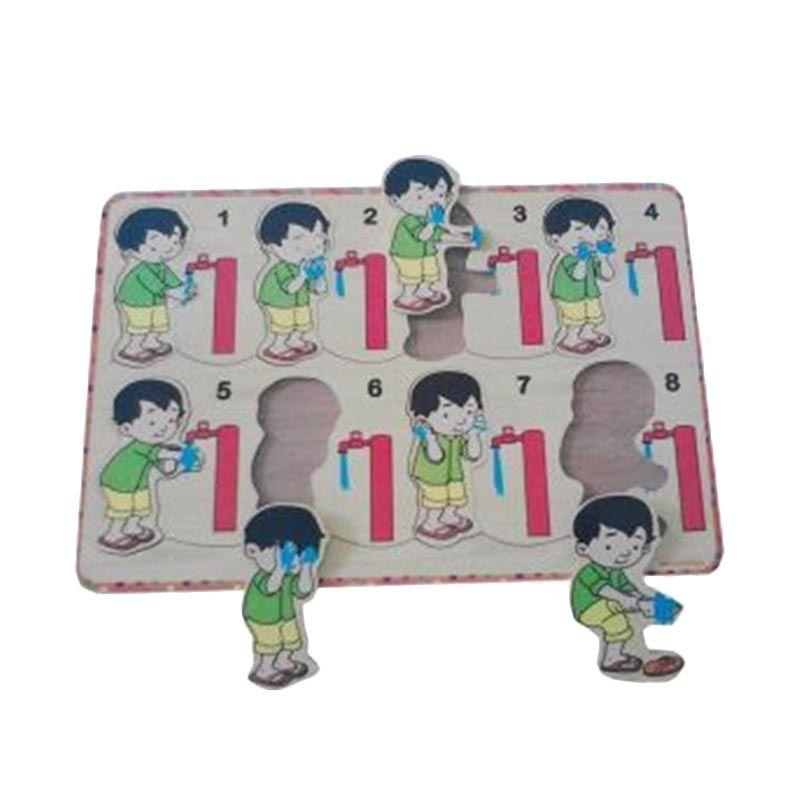 Omochatoys Wudhu Laki-Laki Mainan Puzzle