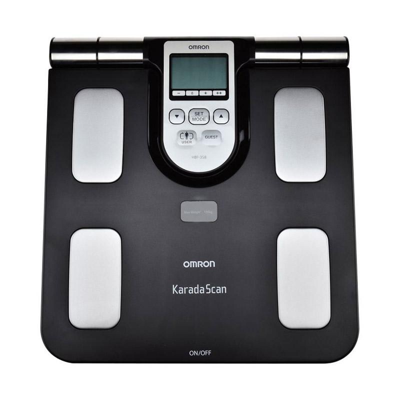 harga Omron HBF-358 Karada Scan Body Composition Scale Monitor Blibli.com