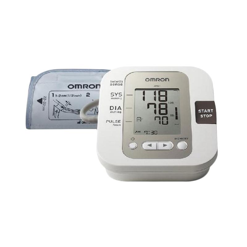 Omron JPN1 Tensimeter Alat Monitor Kesehatan - Putih