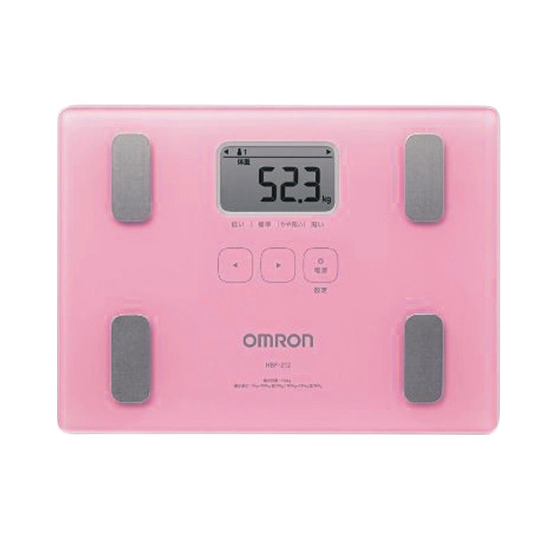 harga Omron Karada Scan HBF-212 Body Composition Monitor Pink Blibli.com