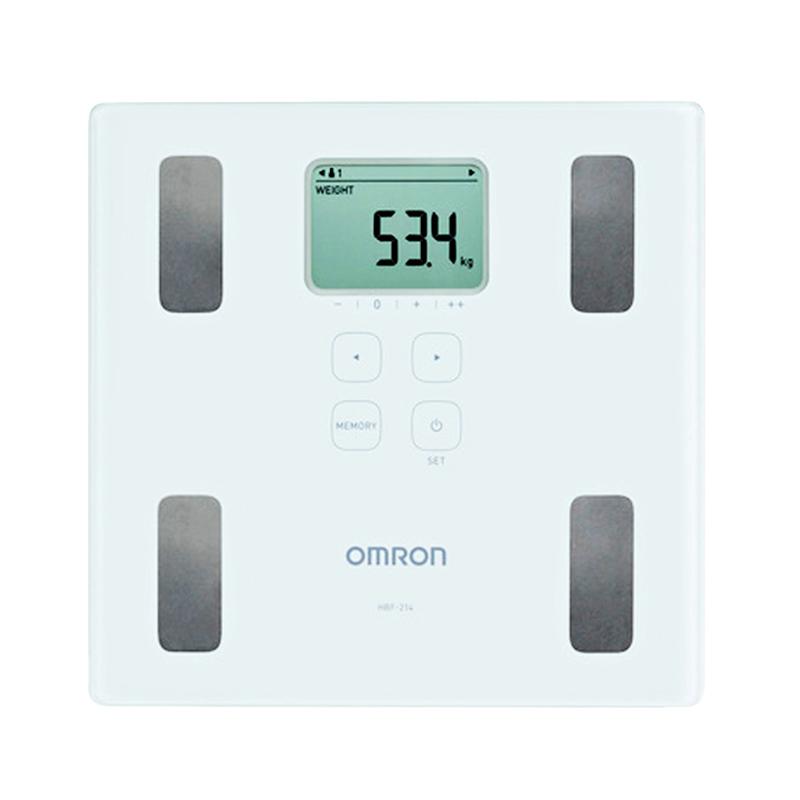 harga Omron Karada Scan HBF-214 Body Composition Monitor Putih ( 45019 ) Blibli.com