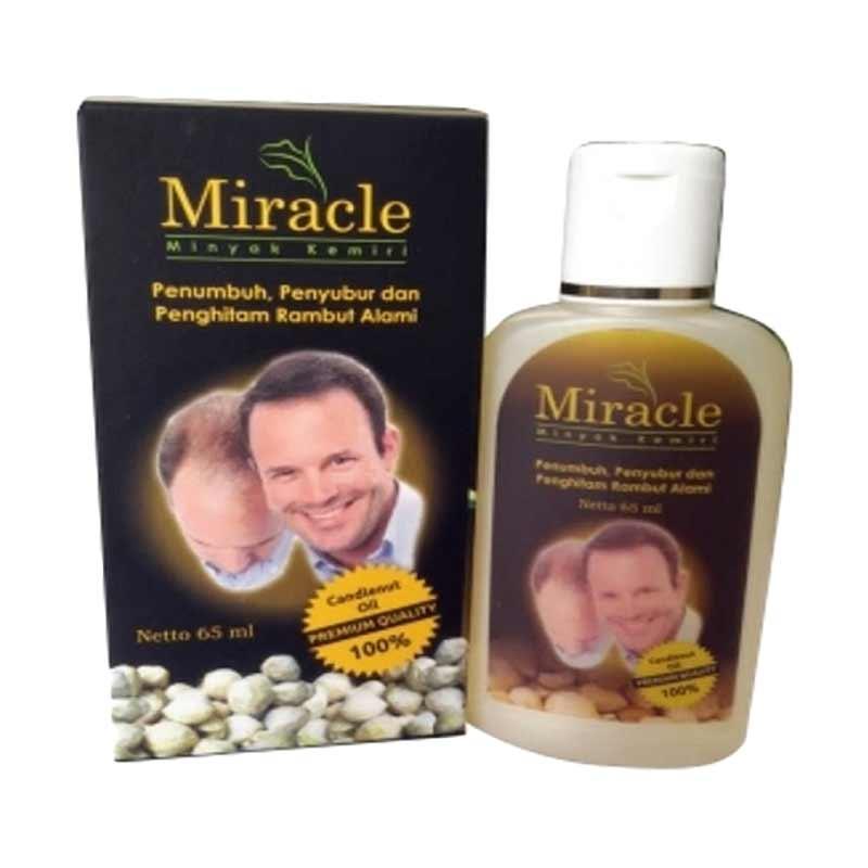 Jual Penumbuh Rambut Pria Minyak Kemiri Miracle Obat Rambut Botak Online April 2021 Blibli