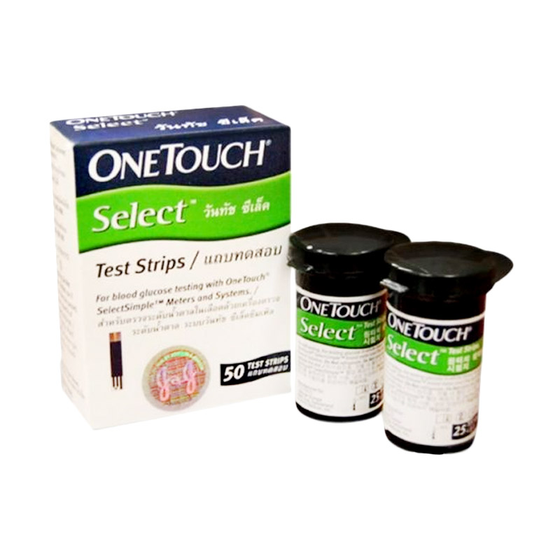 OneTouch Select Simple Strip [Isi 50]