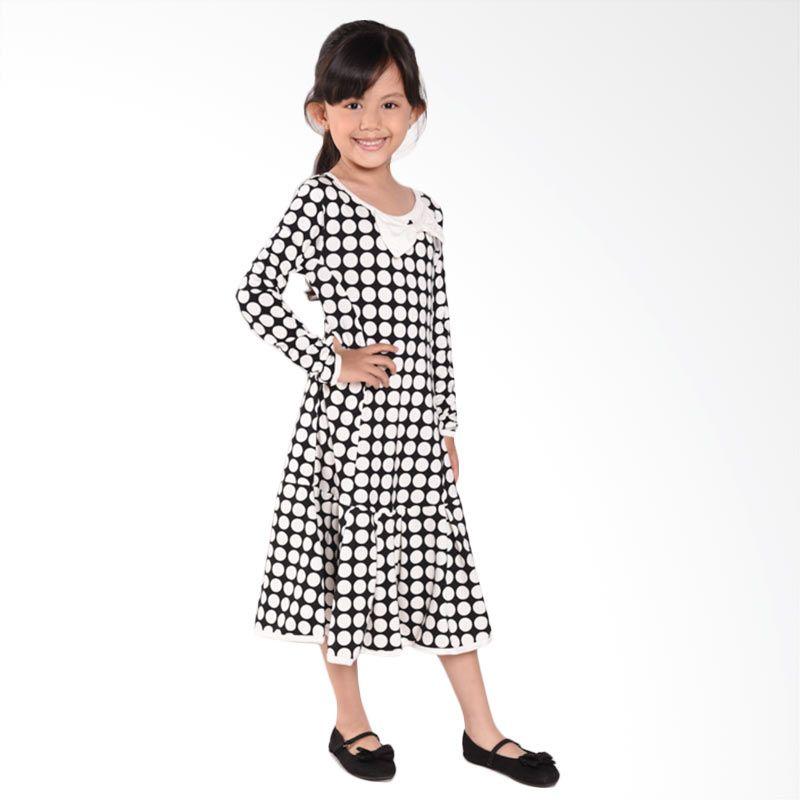 ONEPLUS1+ Polka BNW Dress Pakaian Anak