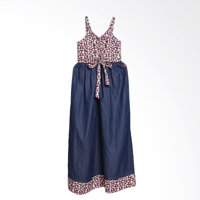 ONEPLUS1 Chambray Dress Anak Perempuan