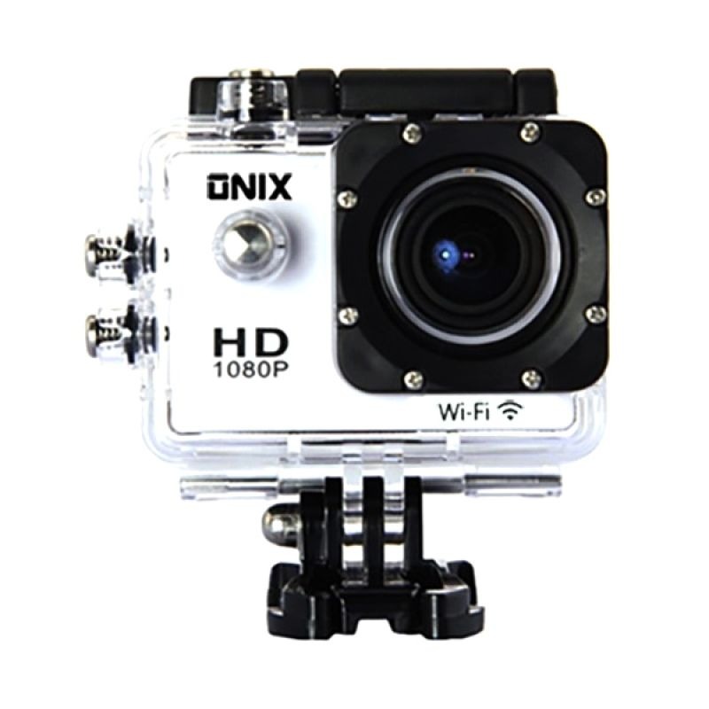 Onix DV508C Action Camera - White [12 MP] Extra diskon 7% setiap hari Extra diskon 5% setiap hari Citibank – lebih hemat 10%