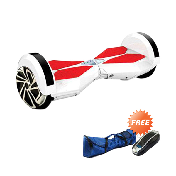 harga Onix Segway Two Wheel Balance Smart Scooter White Hoverboard [8 Inch] + Tas + Remote Blibli.com