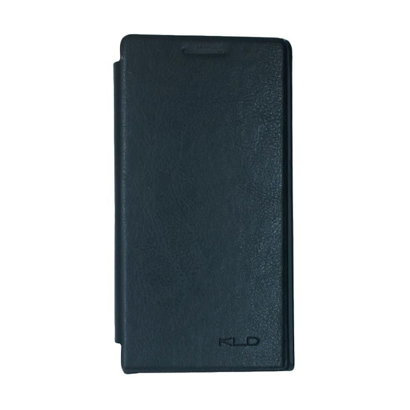 Kalaideng Enland Series Leather Hitam Casing for Huawei Ascend P6