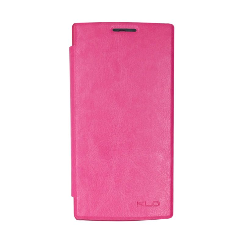 Kalaideng Enland Series Leather Pink Casing for OPPO FIND 5