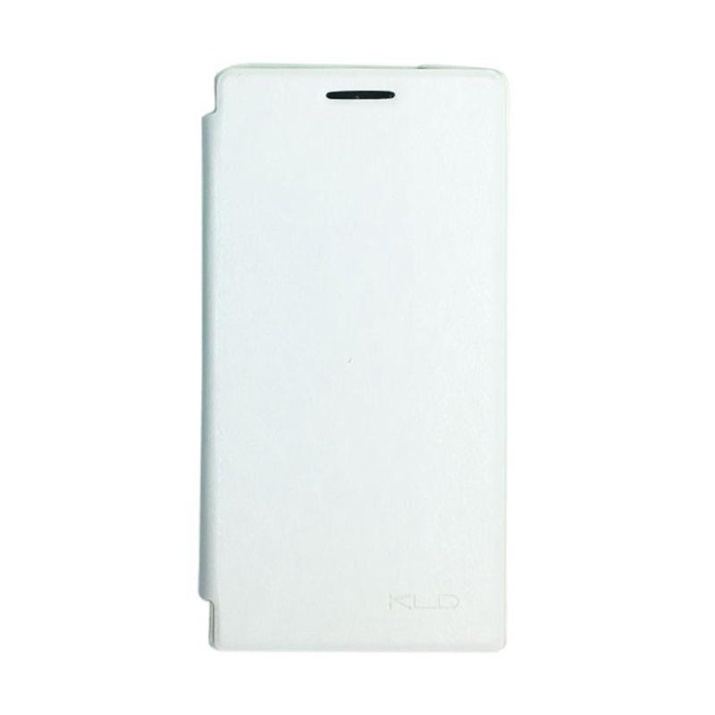 Kalaideng Enland Series Leather Putih Casing for Huawei Ascend P6