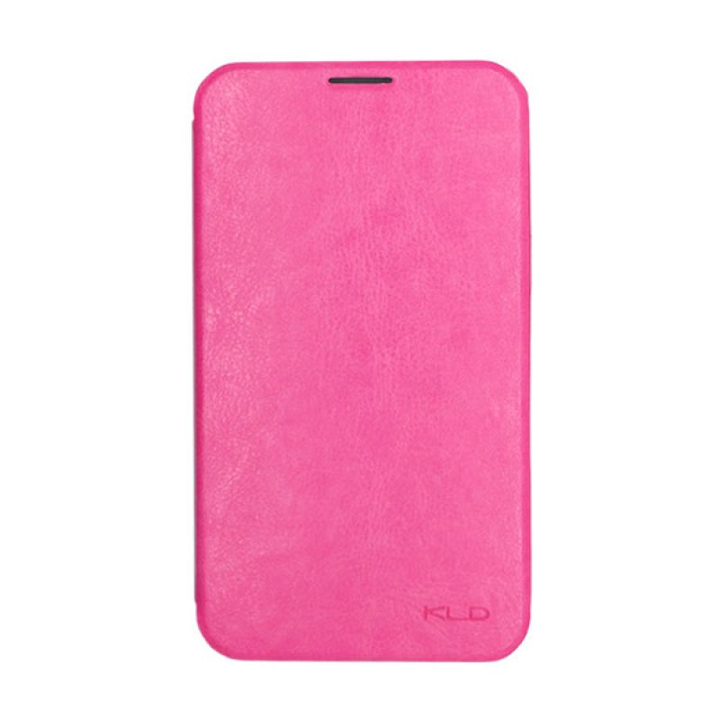 Kalaideng Enland Leather Flip Cover Pink Casing for Samsung Galaxy Note 2