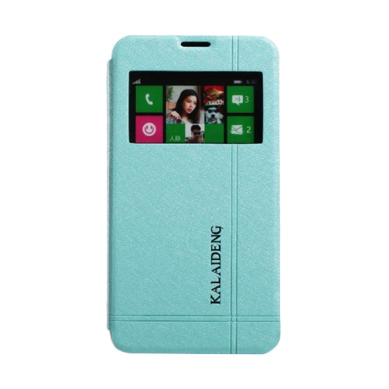 Kalaideng Iceland II Series Leather Biru Casing for Nokia Lumia 630