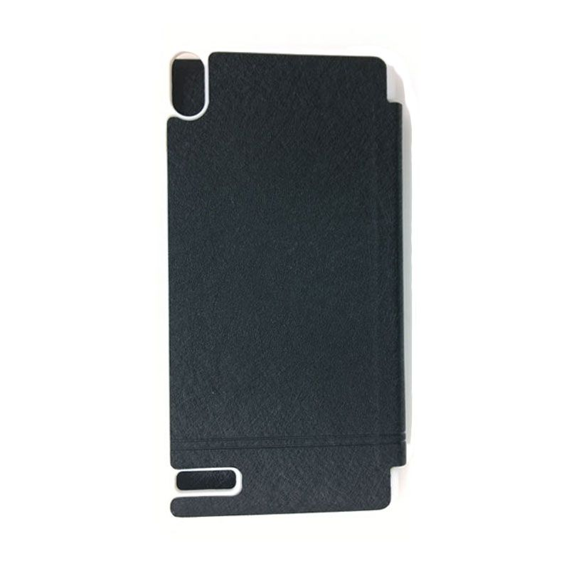 Kalaideng Iceland Series Leather Hitam Casing for Huawei Ascend P6
