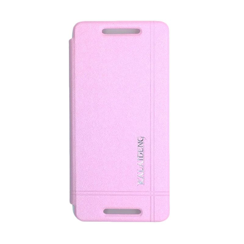 Kalaideng Iceland Series Leather Pink Casing for HTC One Mini