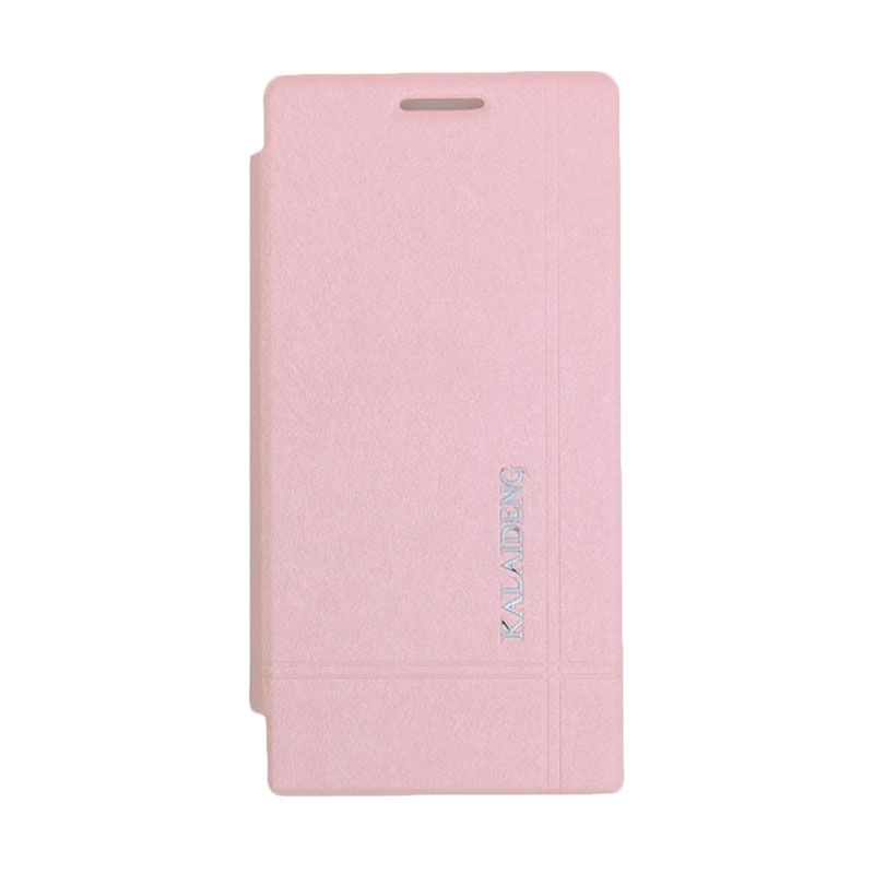 Kalaideng Iceland Series Leather Pink Casing for Huawei Ascend P6