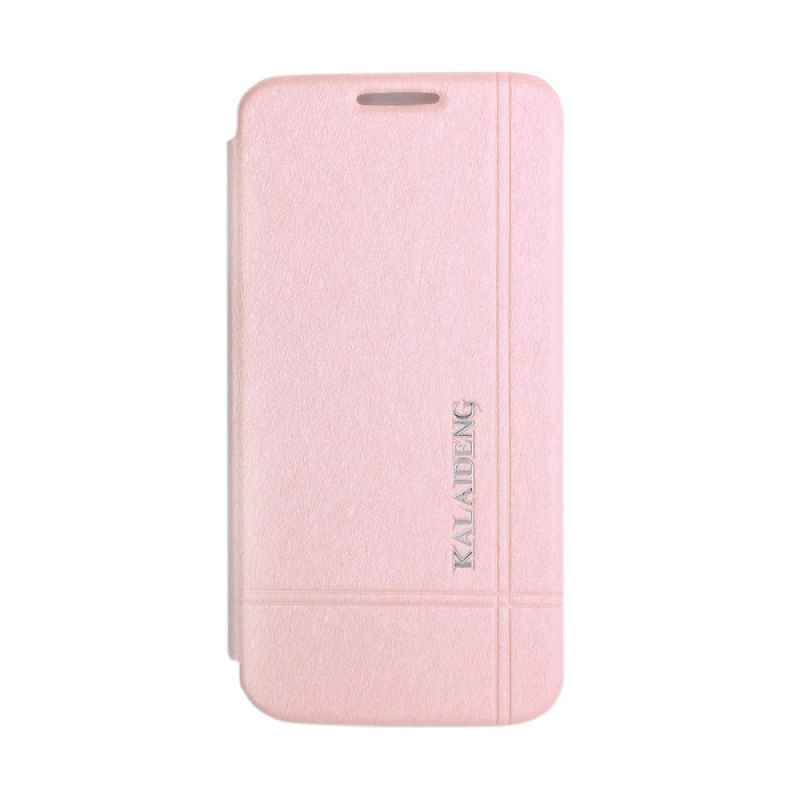 Kalaideng Iceland Series Leather Pink Casing for Samsung Galaxy S4 Mini