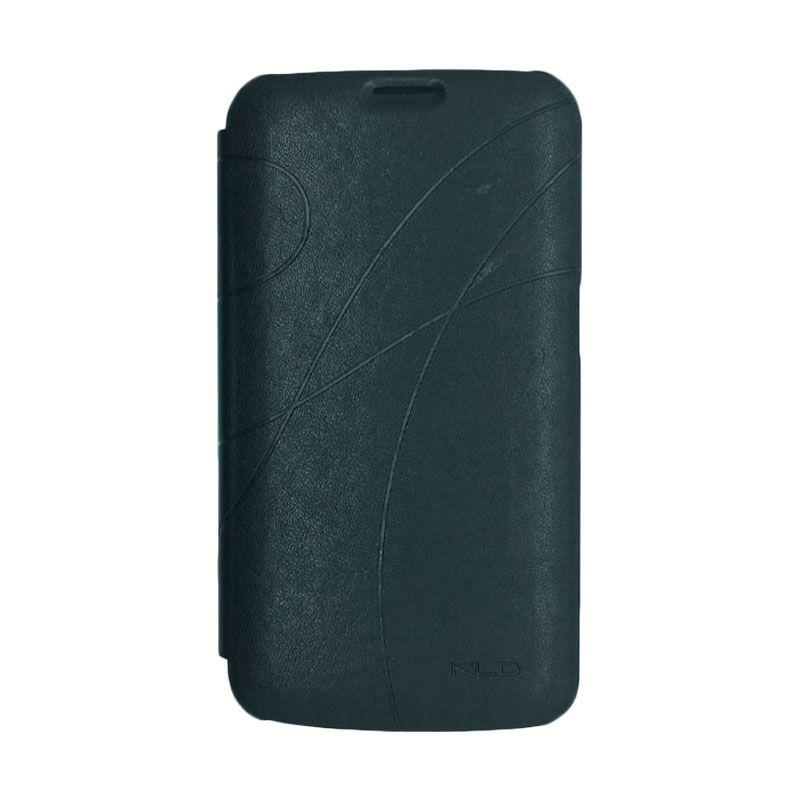 Kalaideng Oscar II Series Leather Case Hitam Casing for Samsung Galaxy Mega 6.3 (i9200)