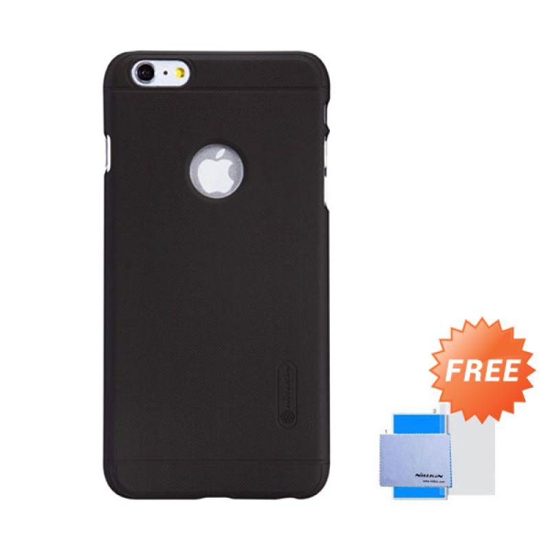 Nillkin Frosted Shield Hard Cokelat Casing for iPhone 6 Plus [5.5 Inch] + Screen Guard
