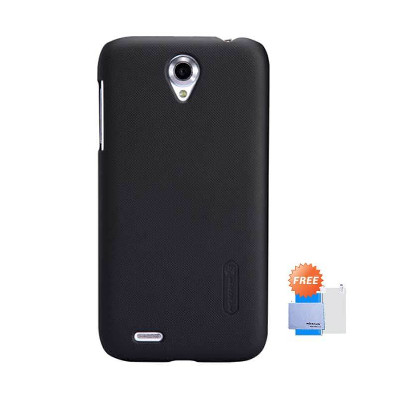 Nillkin Frosted Shield Hardcase Black Casing for Lenovo A859 + Screen Guard