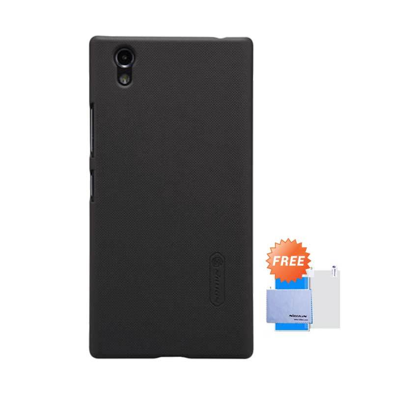 Nillkin Frosted Shield Hardcase Brown Casing for Lenovo P70 + Screen Guard