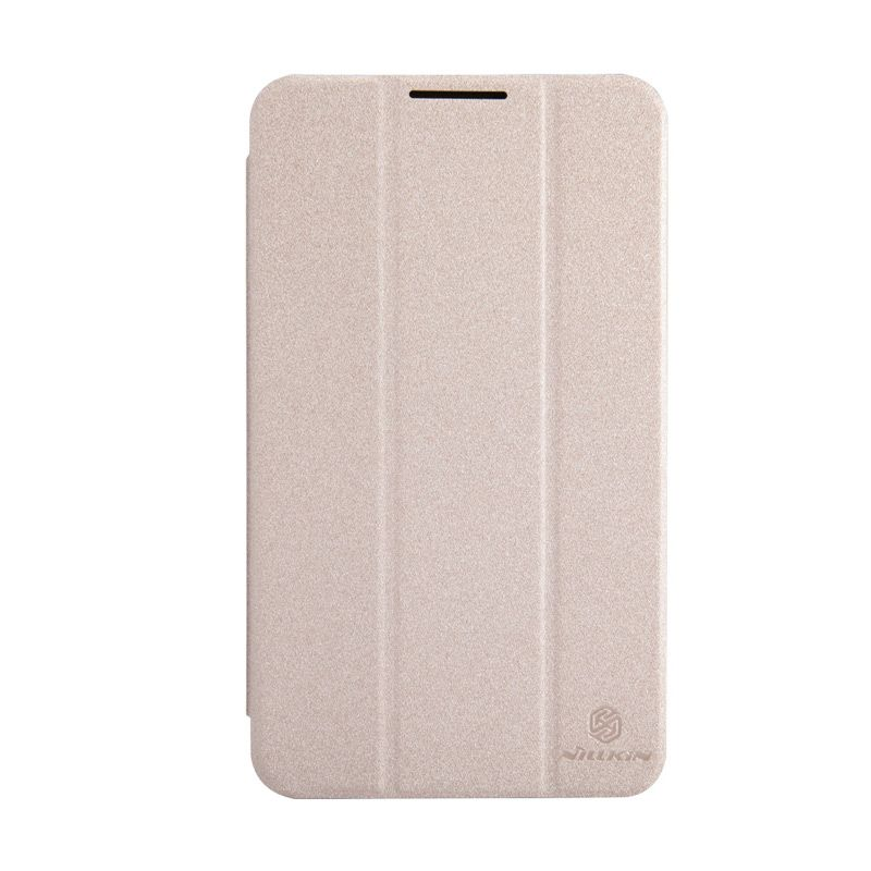 Nillkin Sparkle Leather Gold Flip Cover Casing for Asus Fonepad 7 FE170CG