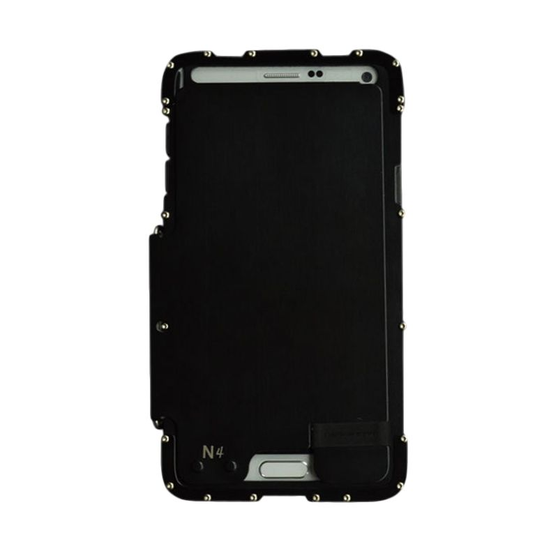 R-Just Armor King Bumper Hitam Casing for Samsung Galaxy Note 4