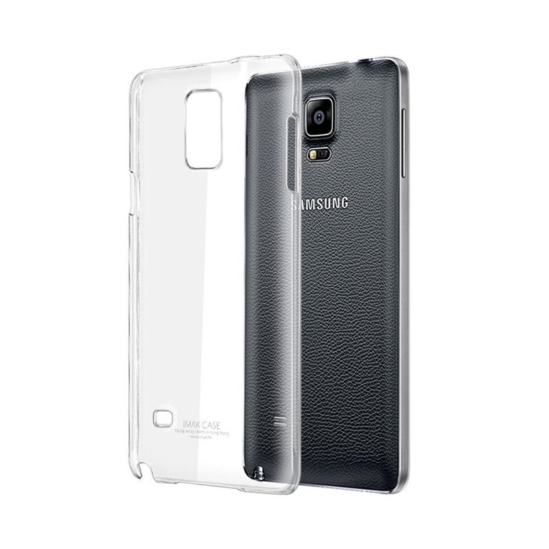 Imak Crystal II Slim Transparant Hard Case Casing for Galaxy Note 4