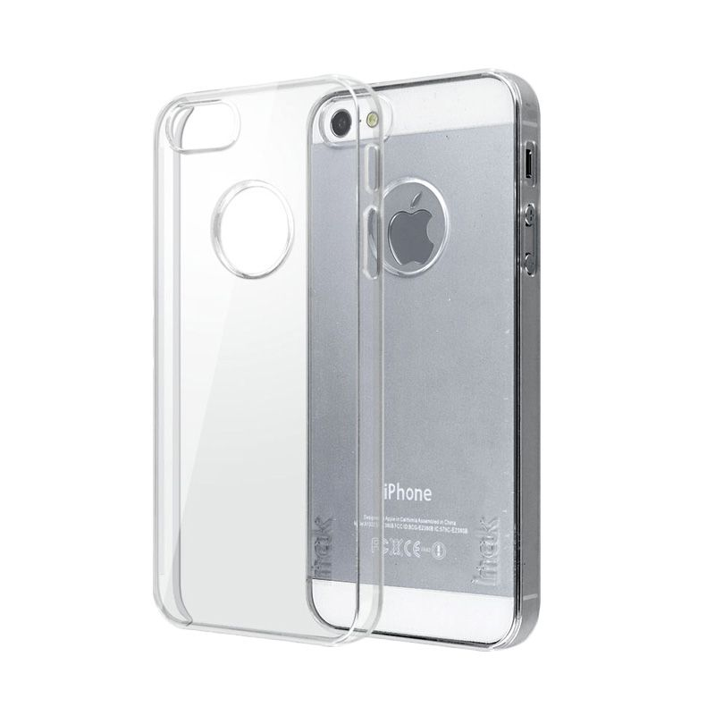Imak Crystal II Slim Transparant Hardcase Casing for iPhone 5 or 5S or SE