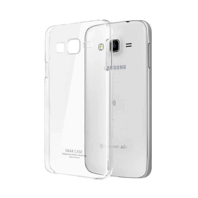 Imak Crystal II Slim Transparant Hardcase Casing for Samsung Galaxy J7